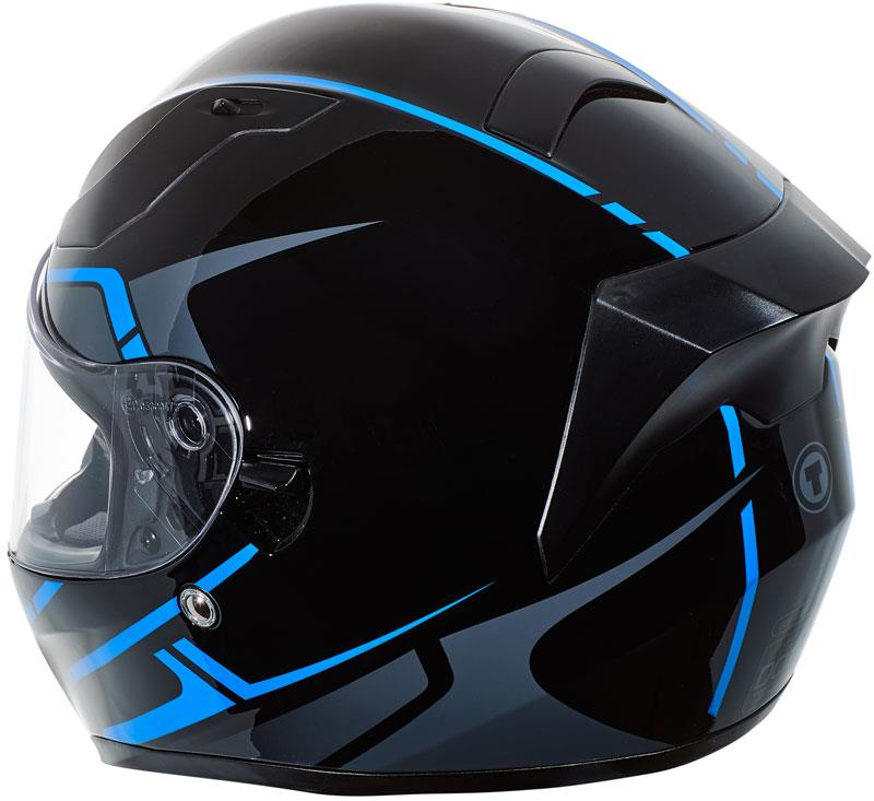 miniature 44 - Torc T15 T15B Helmet Bluetooth Blinc or without - Inner Sun Shield DOT XS-2XL