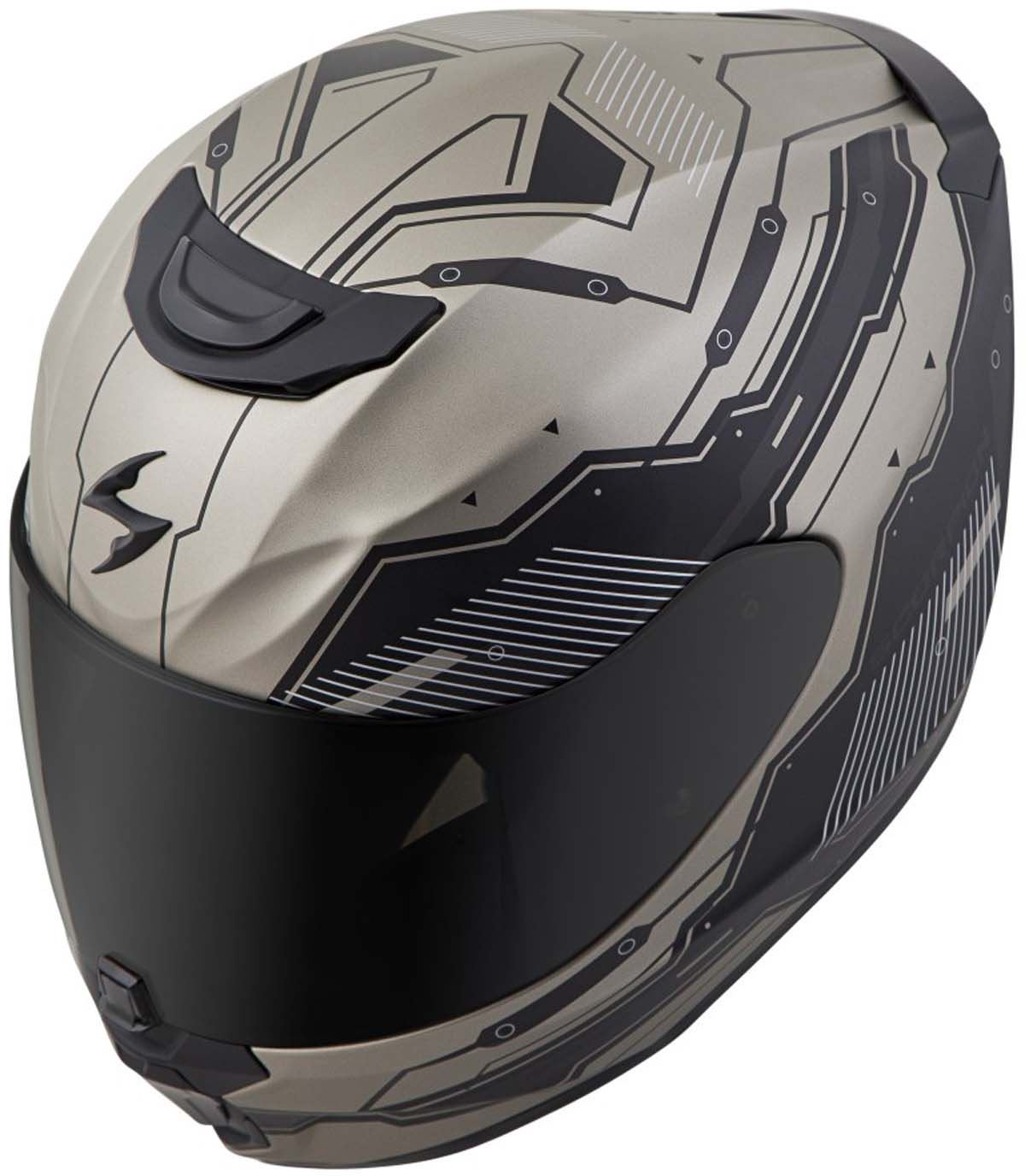 Scorpion-EXO-R420-Helmet-Removable-Liner-Air-Flow-DOT-SNELL-M2015-XS-2XL miniature 29