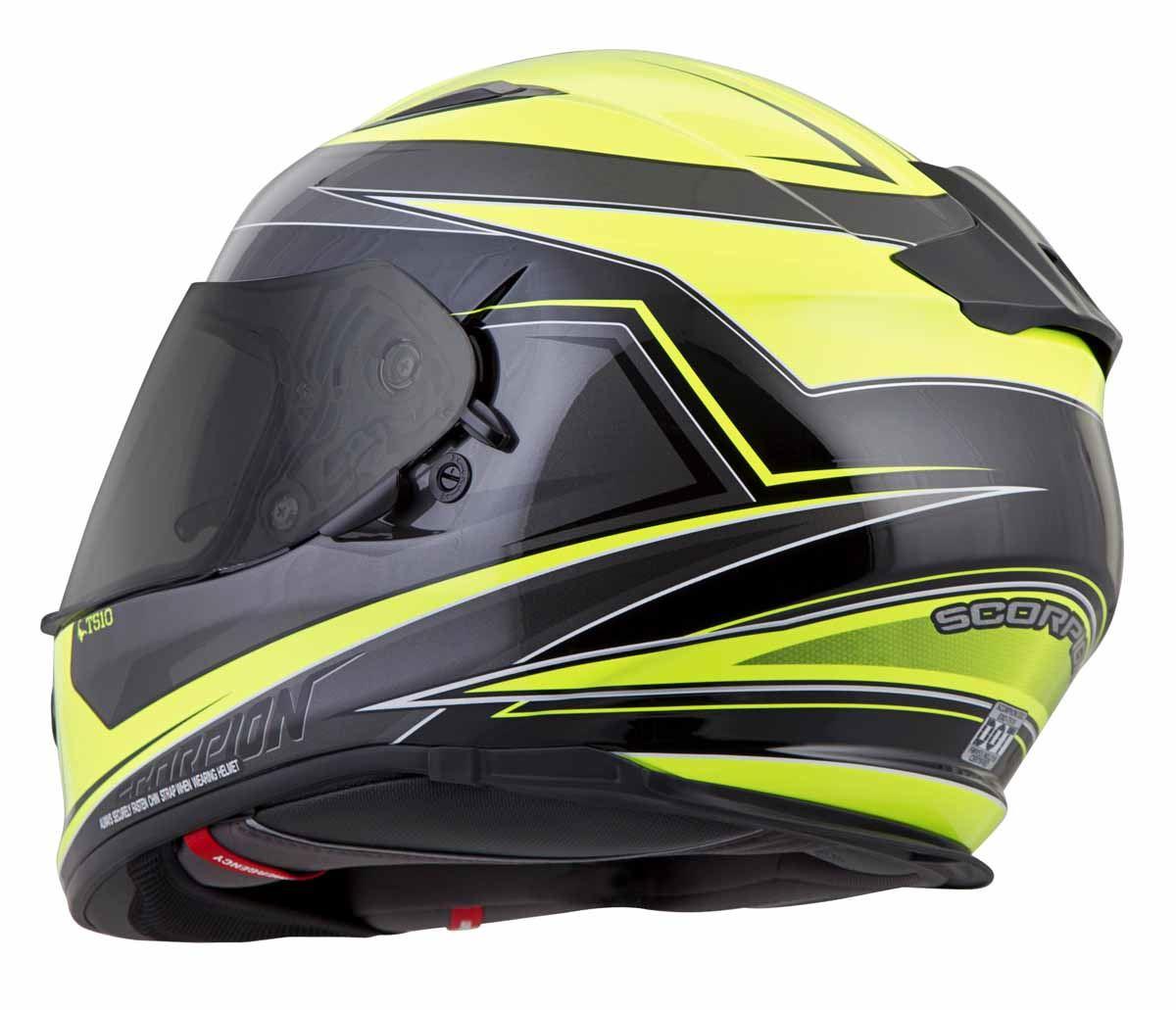 Scorpion-EXO-T510-Helmet-Full-Face-DOT-Approved-Inner-Sun-Shield miniature 39