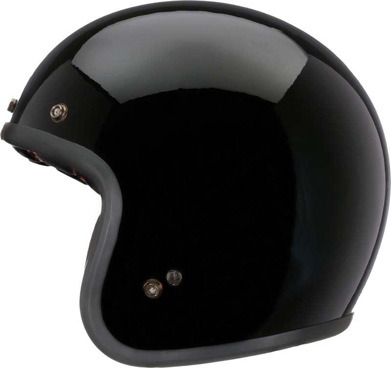 Bell-Custom-500-Helmet-3-4-Open-Face-Vintage-Retro-Motorcycle-5-Snap-XS-2XL miniature 4