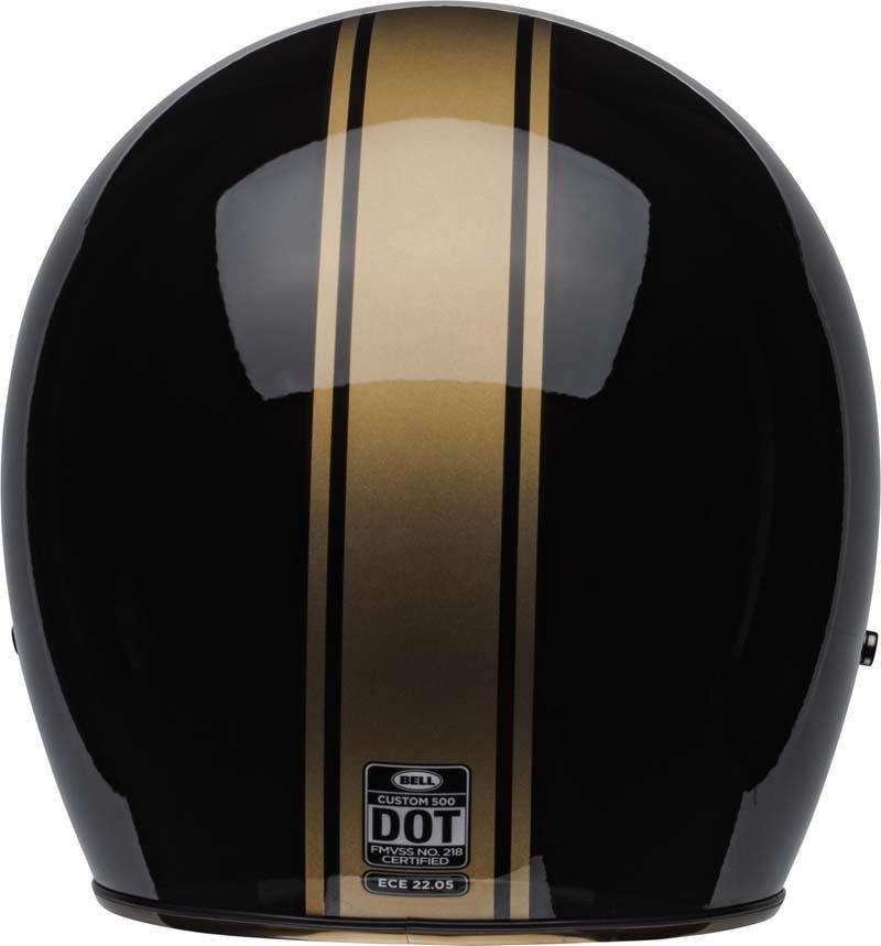 Bell-Custom-500-Helmet-3-4-Open-Face-Vintage-Retro-Motorcycle-5-Snap-XS-2XL miniature 56