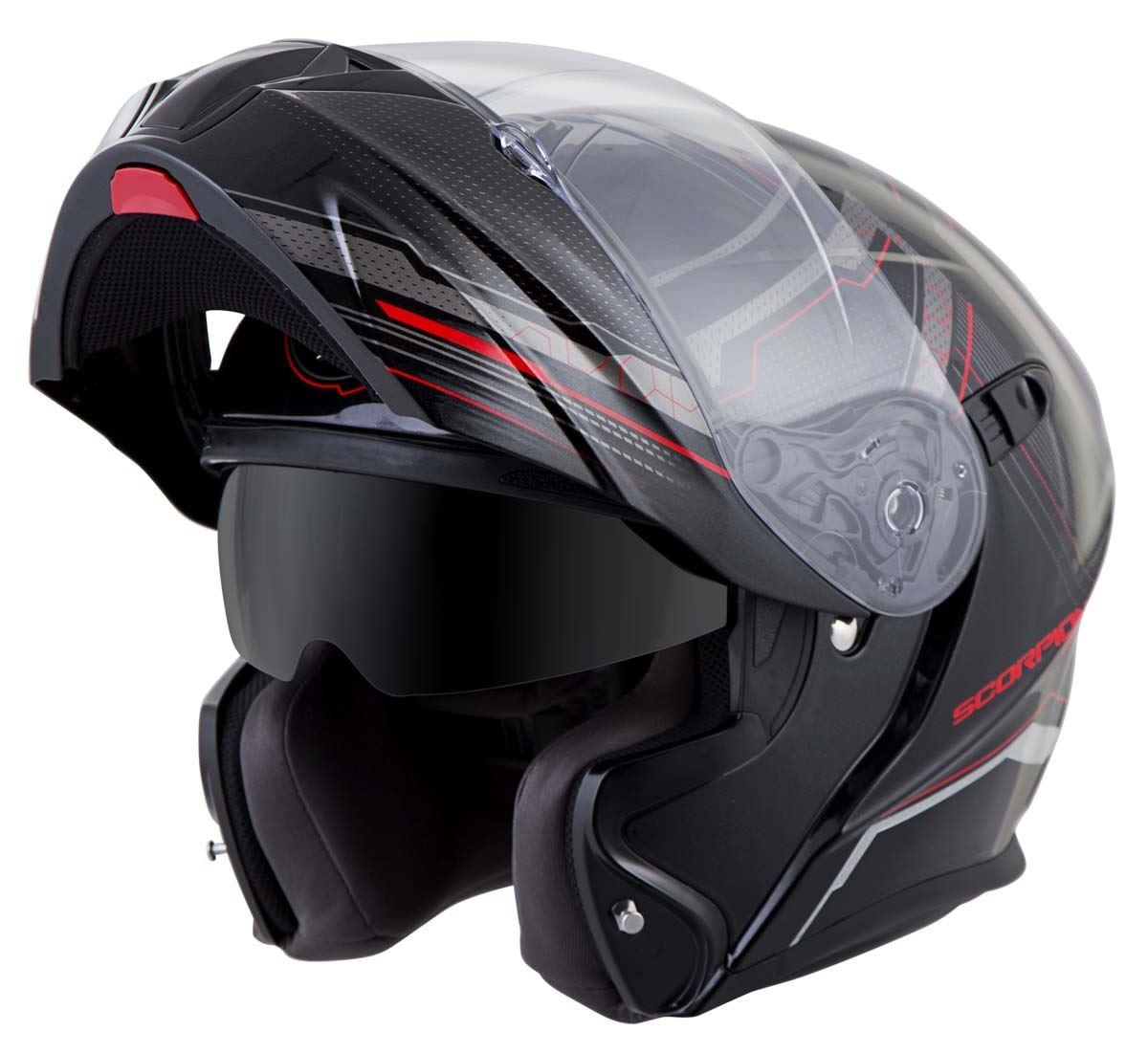 Scorpion-EXO-GT920-Helmet-Sport-Touring-Modular-Flip-Up-DOT-Approved-XS-3XL miniature 24