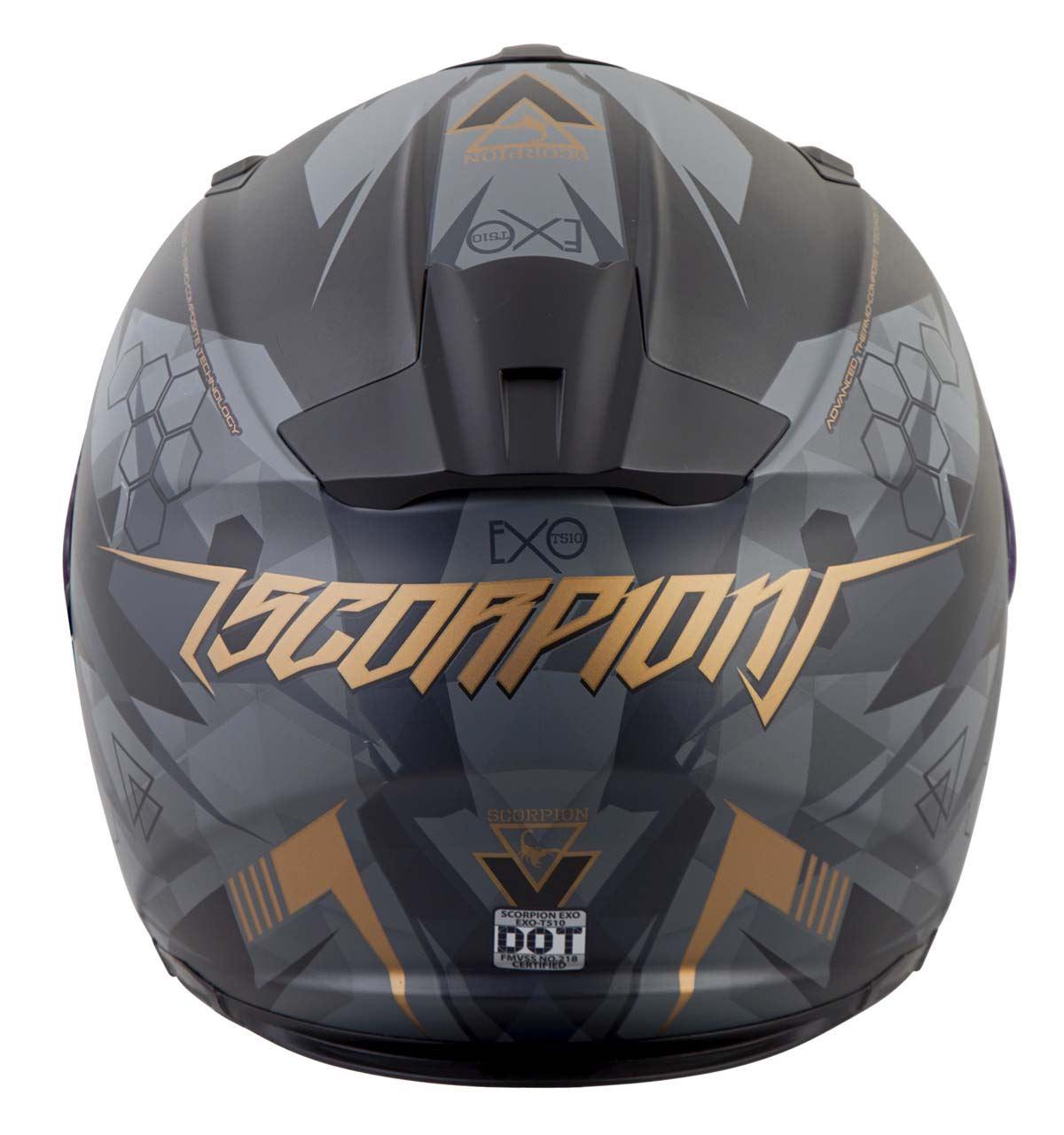 Scorpion-EXO-T510-Helmet-Full-Face-DOT-Approved-Inner-Sun-Shield miniature 48