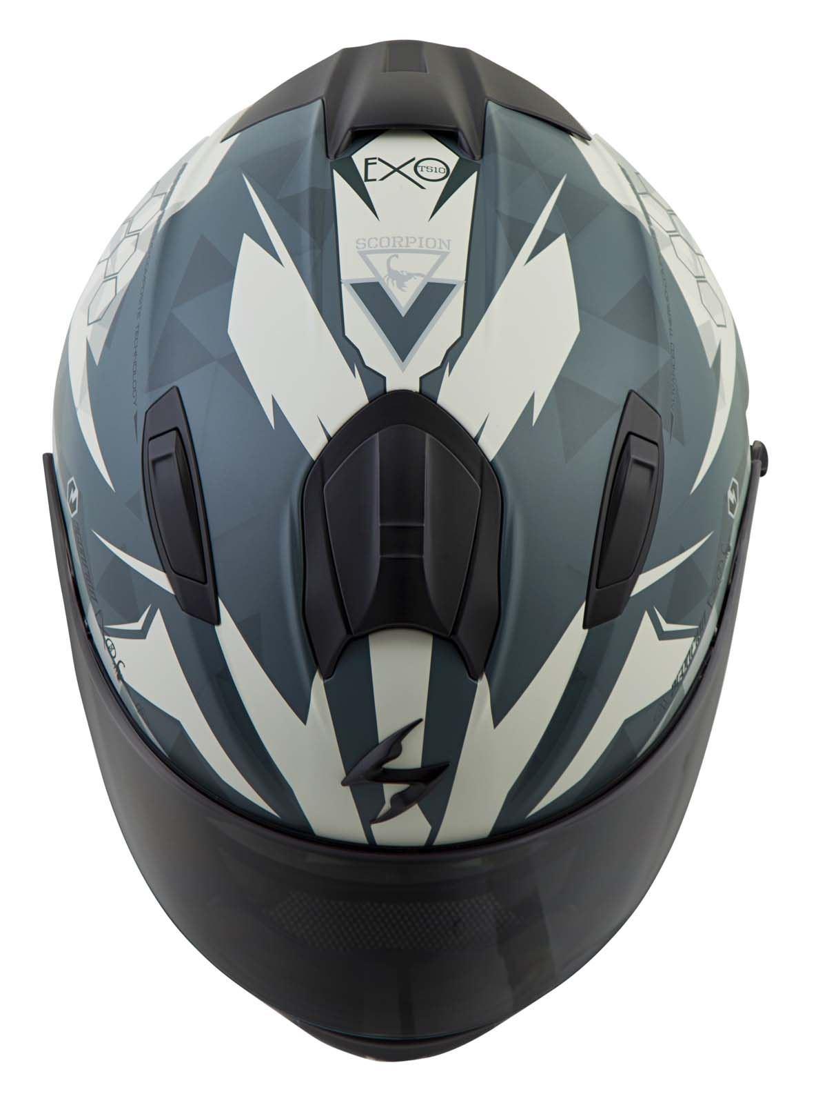 Scorpion-EXO-T510-Helmet-Full-Face-DOT-Approved-Inner-Sun-Shield miniature 61
