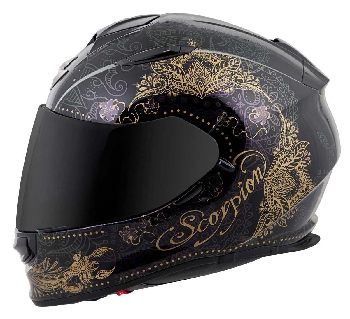 Scorpion-EXO-T510-Helmet-Full-Face-DOT-Approved-Inner-Sun-Shield miniature 63