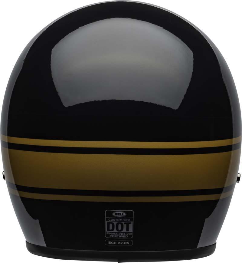 Bell-Custom-500-Helmet-3-4-Open-Face-Vintage-Retro-Motorcycle-5-Snap-XS-2XL miniature 48