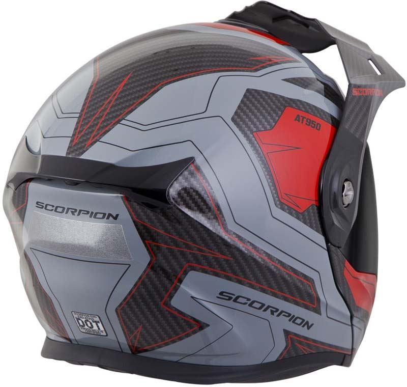 Scorpion-EXO-AT950-Helmet-Flip-Up-Modular-Dual-Sport-Adventure-ADV-DOT-XS-3XL miniature 65