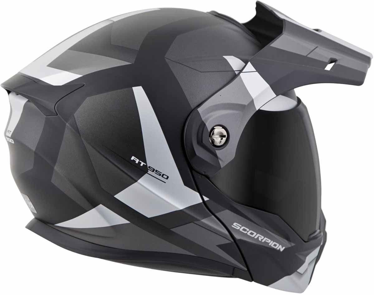 Scorpion-EXO-AT950-Helmet-Flip-Up-Modular-Dual-Sport-Adventure-ADV-DOT-XS-3XL miniature 32