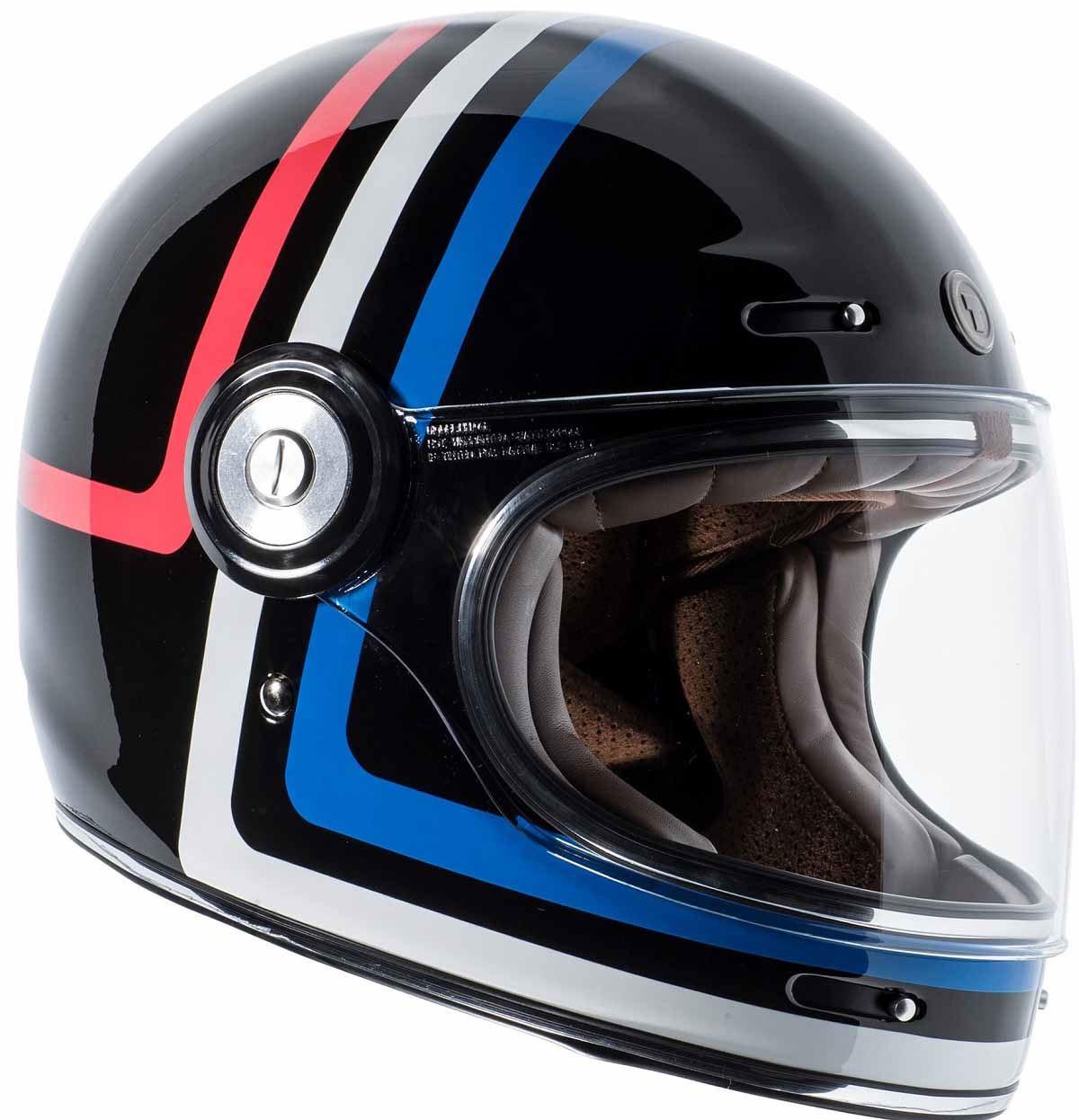 miniature 13 - Torc T1 Helmet Retro Vintage Style Fiberglass DOT Approved XS-2XL