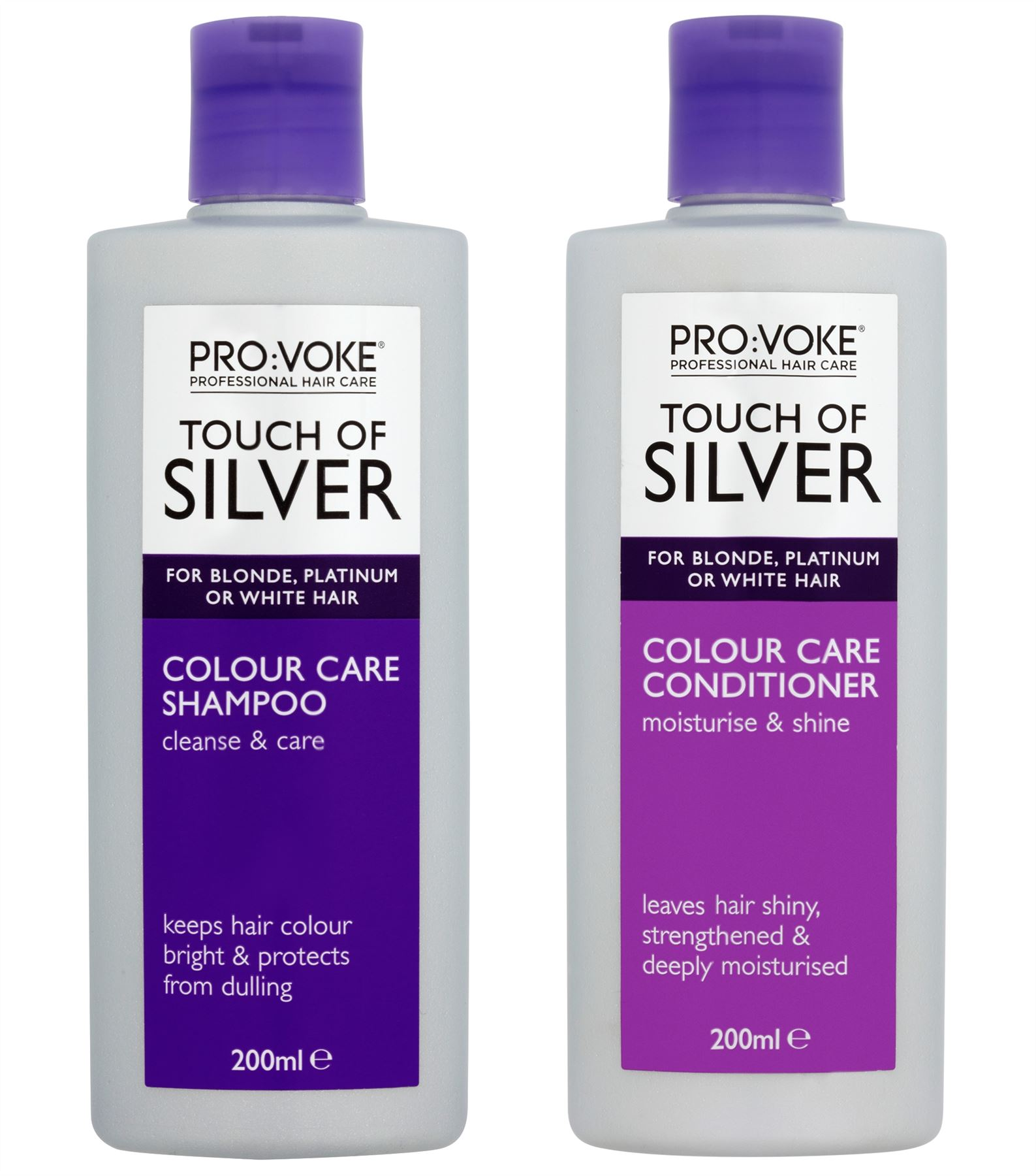Image is loading Touch-Of-Silver-Daily-Shampoo-amp-Conditioner-200ml- f4409693f6ee