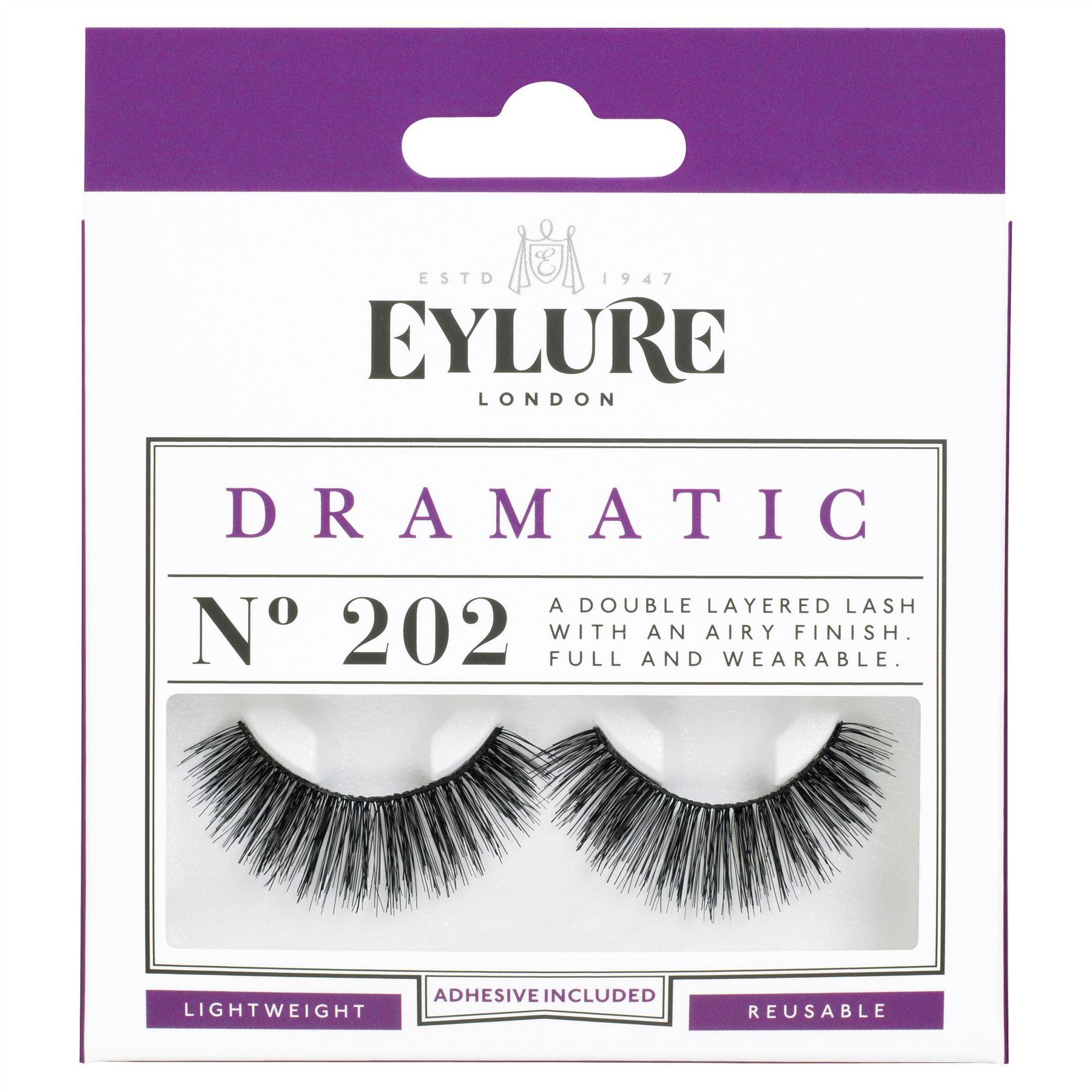 f009ffdba16 EYLURE Strip Lashes No. 202 Dramatic Eyelashes for sale online | eBay