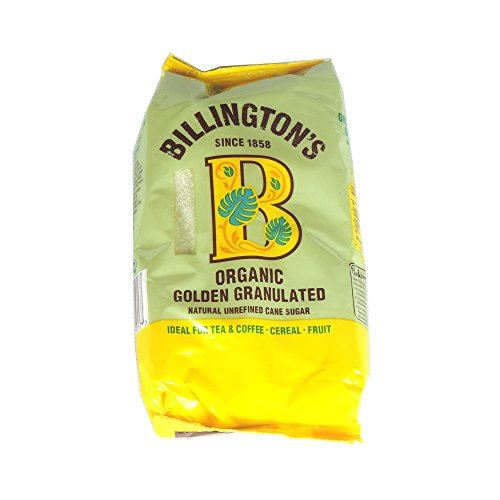 Details about Billington's Organic Golden Granulated Natural Unrefined Cane  Sugar 500g