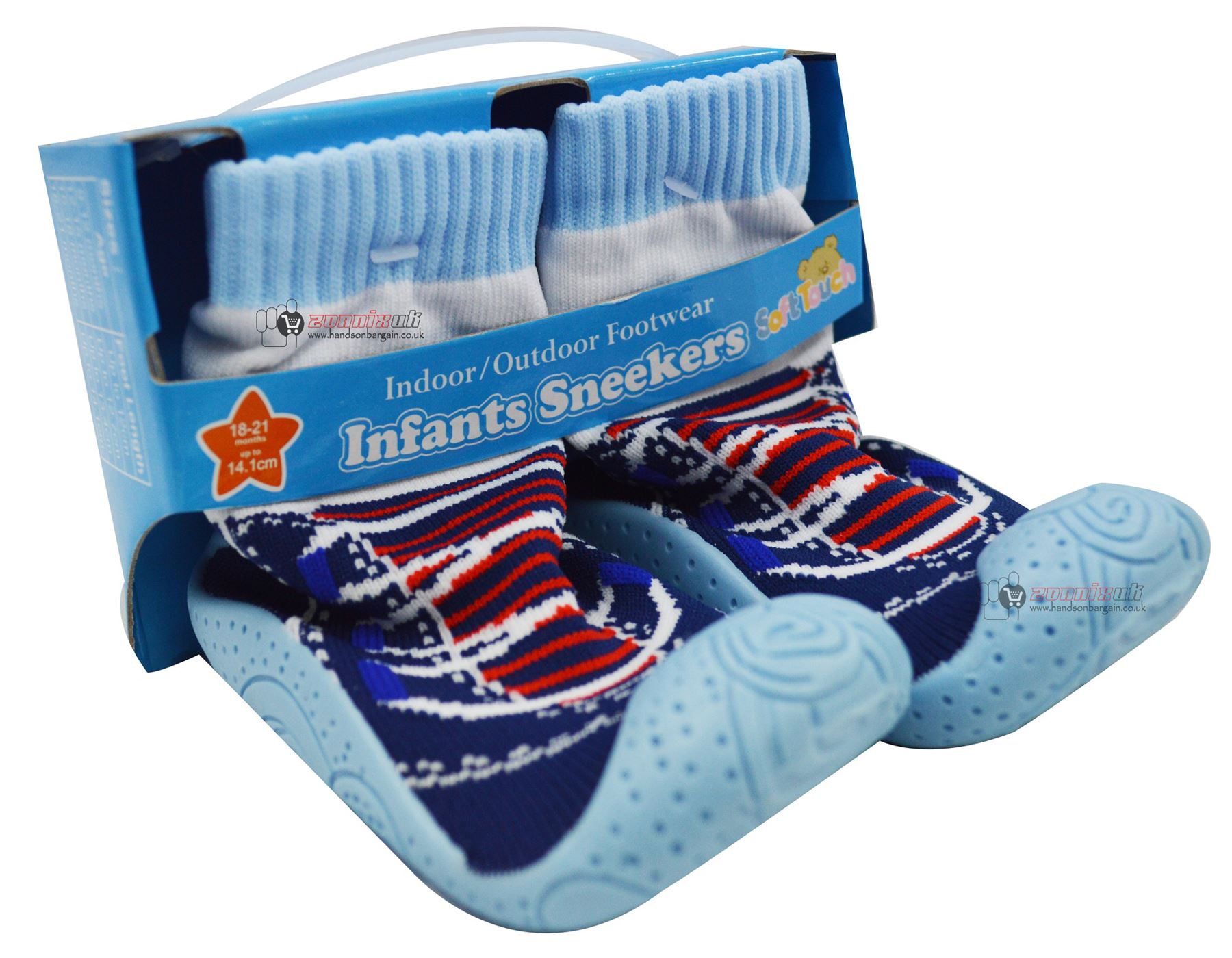 Baby Infant Sneekers Indoor Outdoor Footwear Rubber Soled Shoes Boys