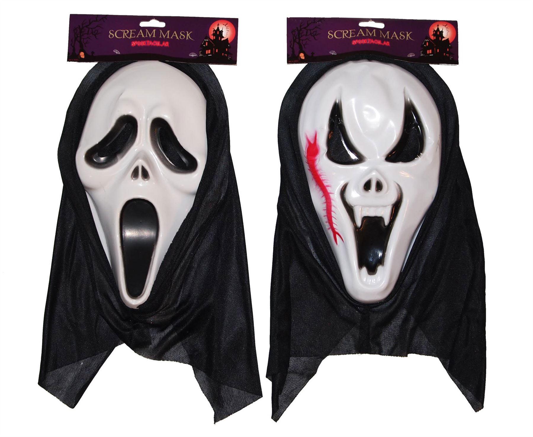 scream dementors zombie mask with hood costume fancy dress halloween outfit