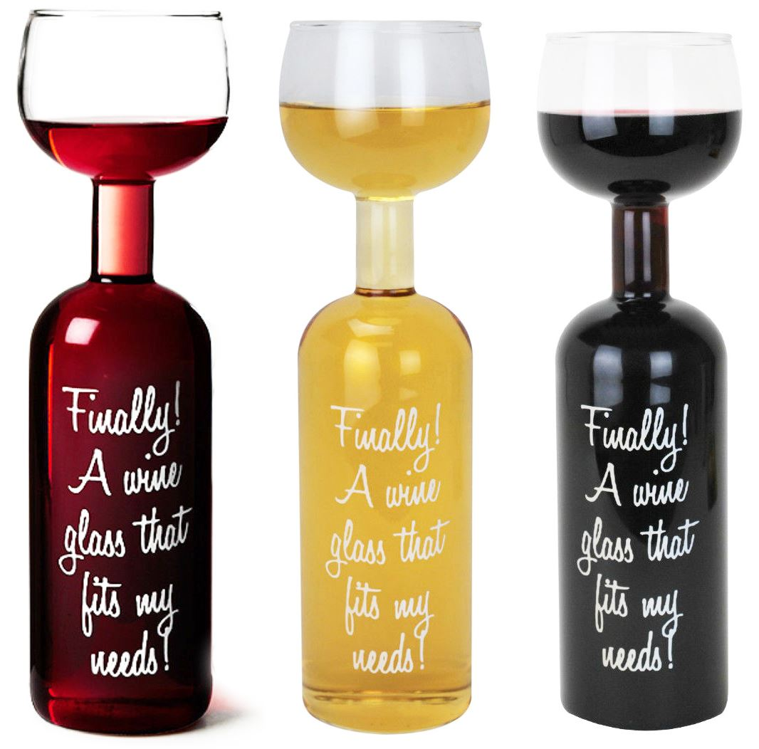 New 750ml transparent the wine bottle glass holds a whole for Wine bottle glass