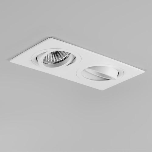 Taro Twin Matt White Ceiling Downlight - Astro Lighting 5648