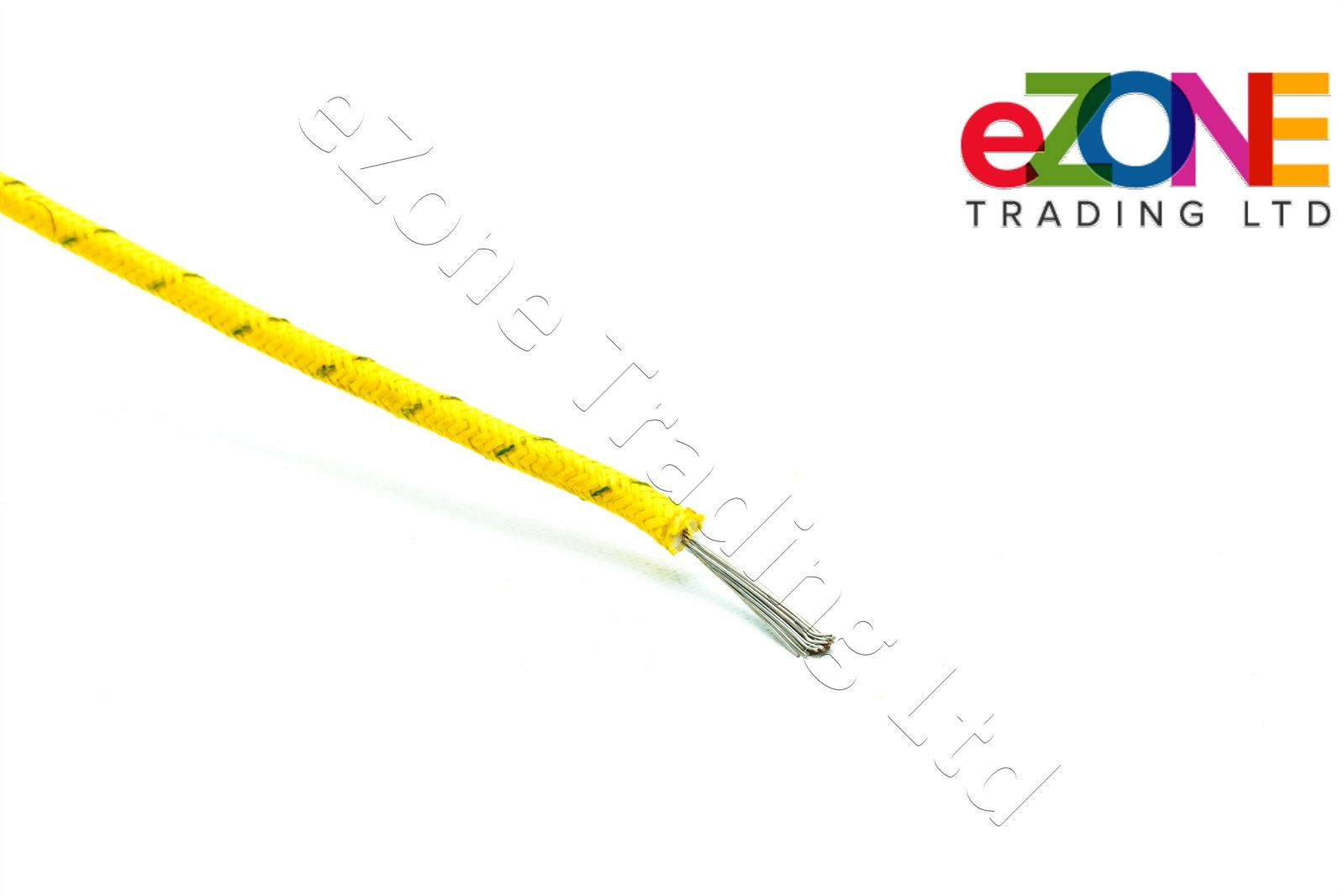 Heat Resistant High Temperature Glass Fibre Wire cable 1.5mm | eBay