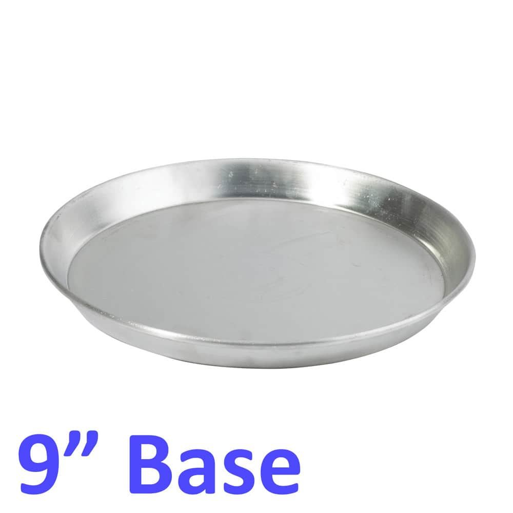 Aluminium-Deep-Pizza-Pan-Baking-Tray-Dish-9-10-12-034-RIM-1-5-034-commercial-Quality miniature 6