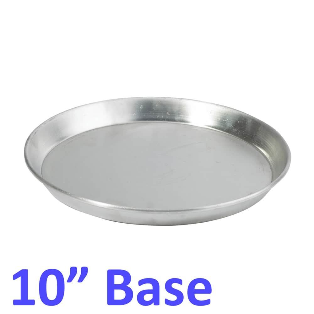 Aluminium-Deep-Pizza-Pan-Baking-Tray-Dish-9-10-12-034-RIM-1-5-034-commercial-Quality miniature 9