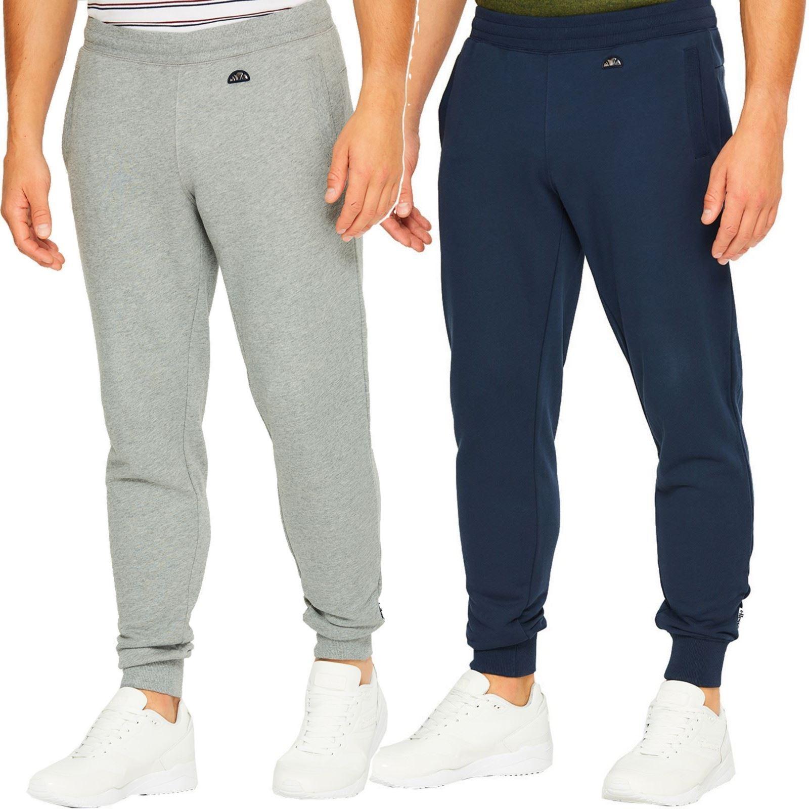 całkowicie stylowy szybka dostawa niska cena Details about Ellesse Maffeo Sweat Pants Jogger Bottoms - Blue, Grey - XS,  S, M, L, XL
