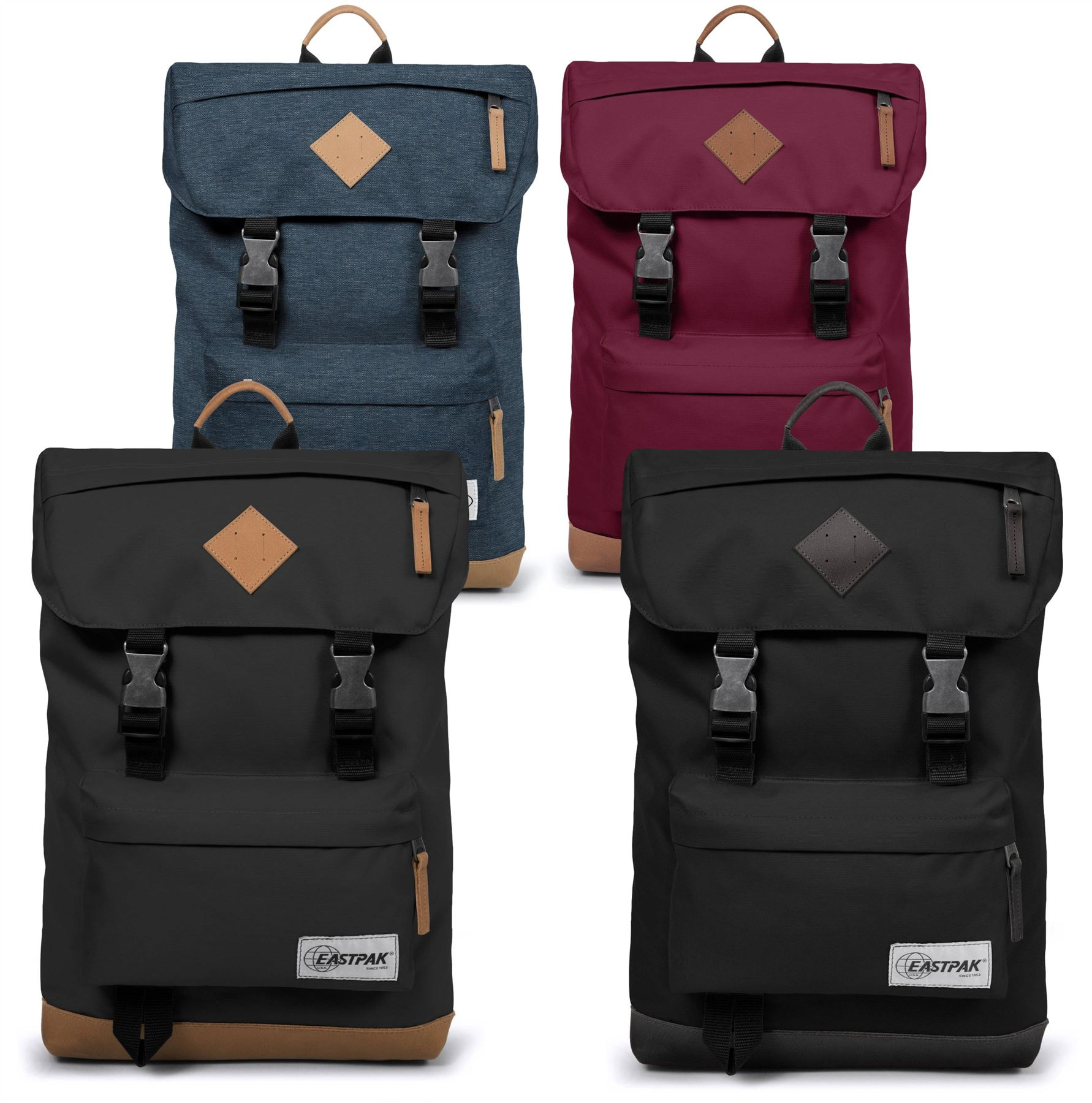 Sacs Eastpak Rowlo rouges rt2el