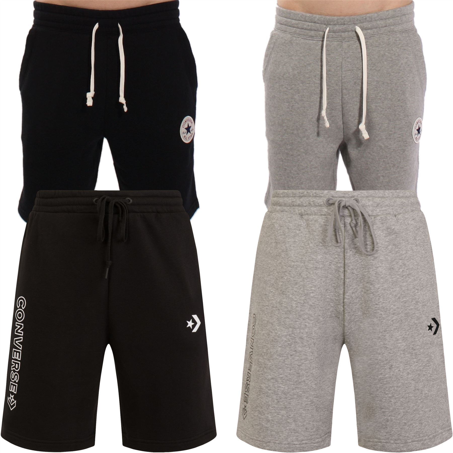 2converse pantaloncini