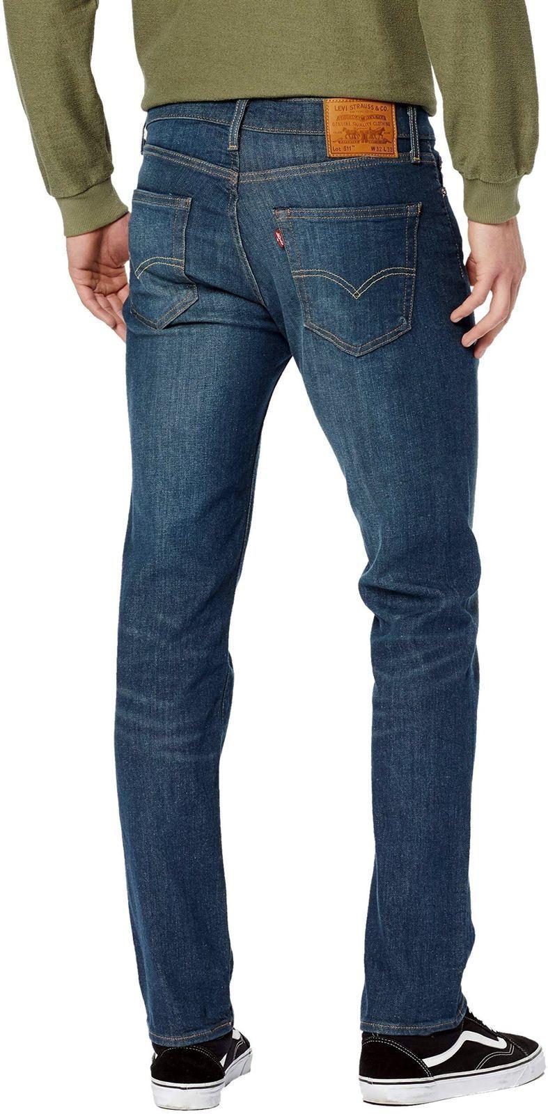 Levi-039-s-511-Slim-Fit-Denim-Jeans-estilos-surtidos miniatura 5