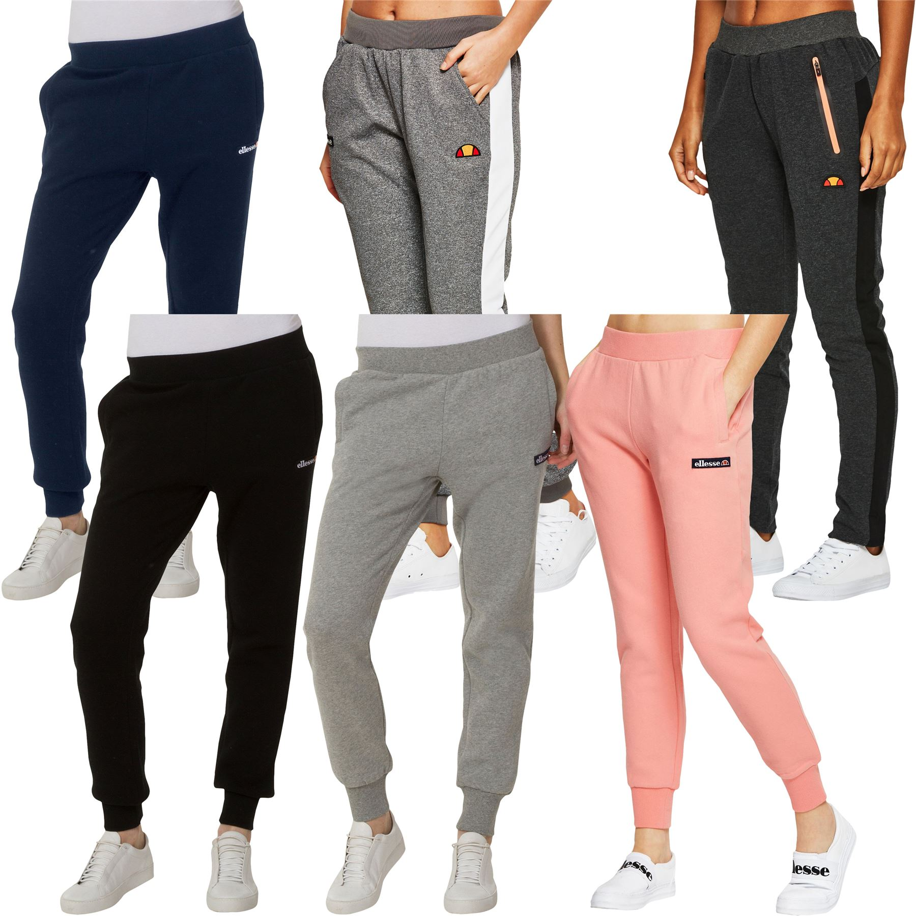 6985cfeb Details about Ellesse Jogger Bottoms Women's Sweat Pants Assorted Styles