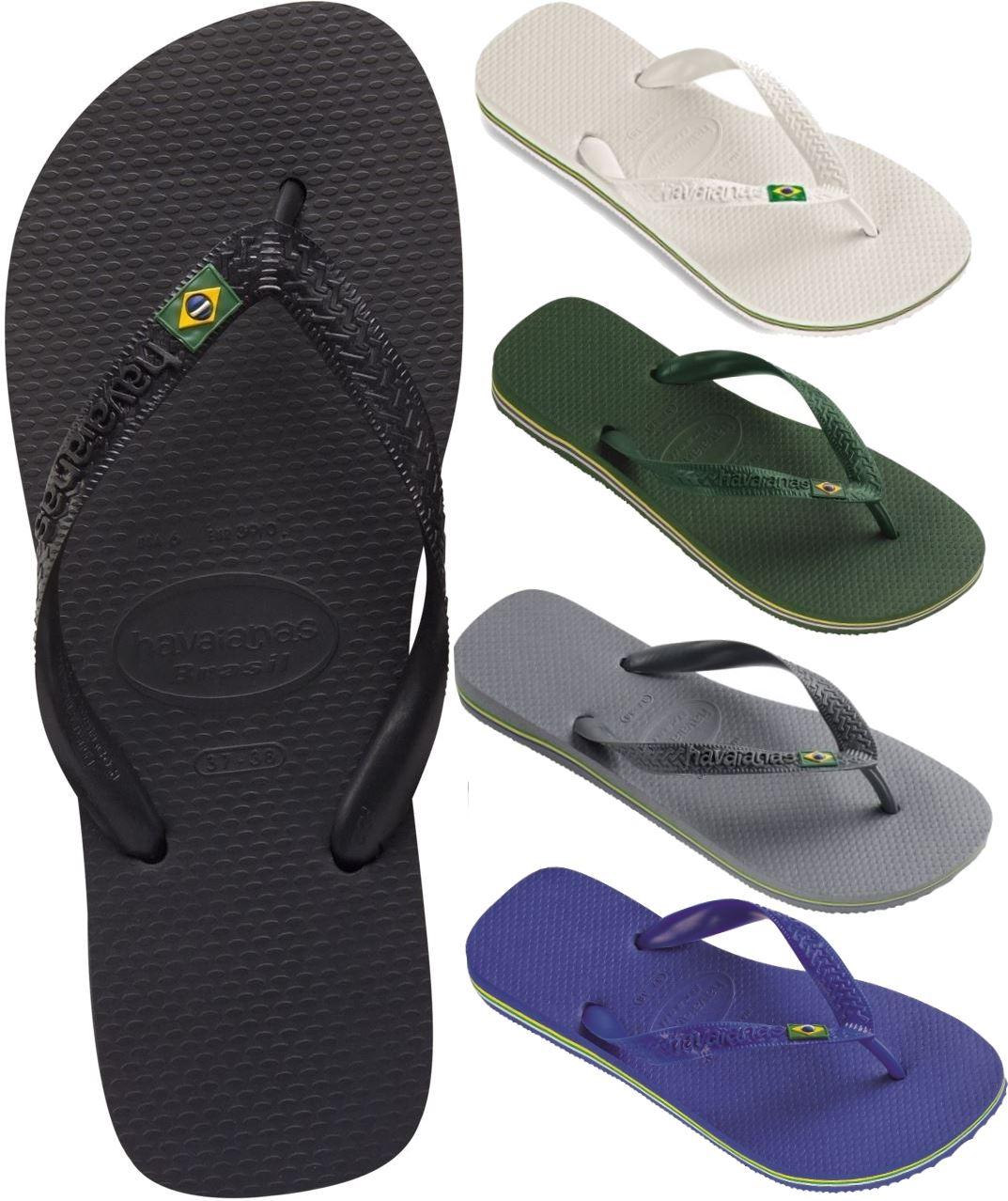 8eac12d19a57f Havaianas Brasil Brazil Flip Flops - Various Colours   Sizes