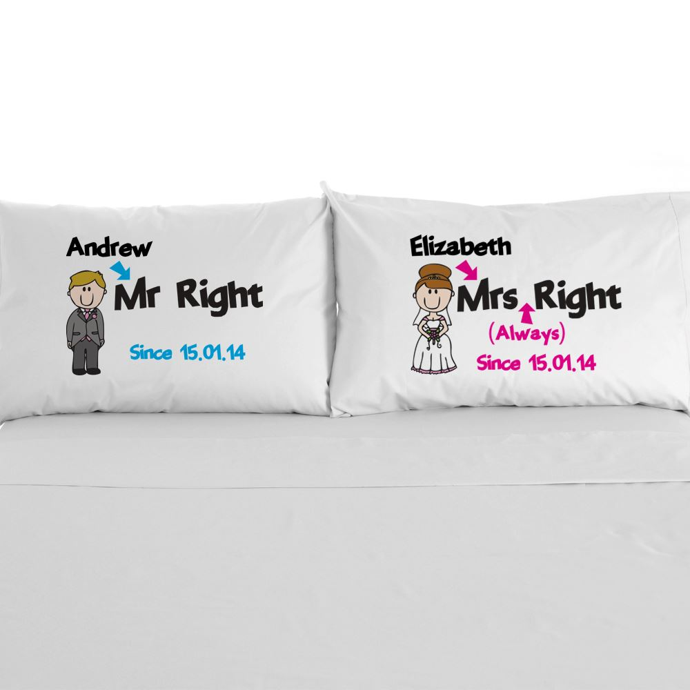 2nd Wedding Anniversary Gifts Uk: Mr Right Mrs Always Right Gift 2nd Wedding Anniversary