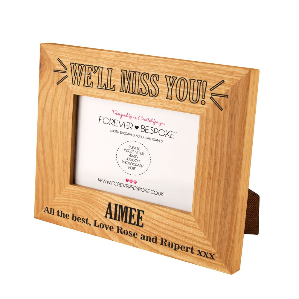 large image - Miss You Picture Frames