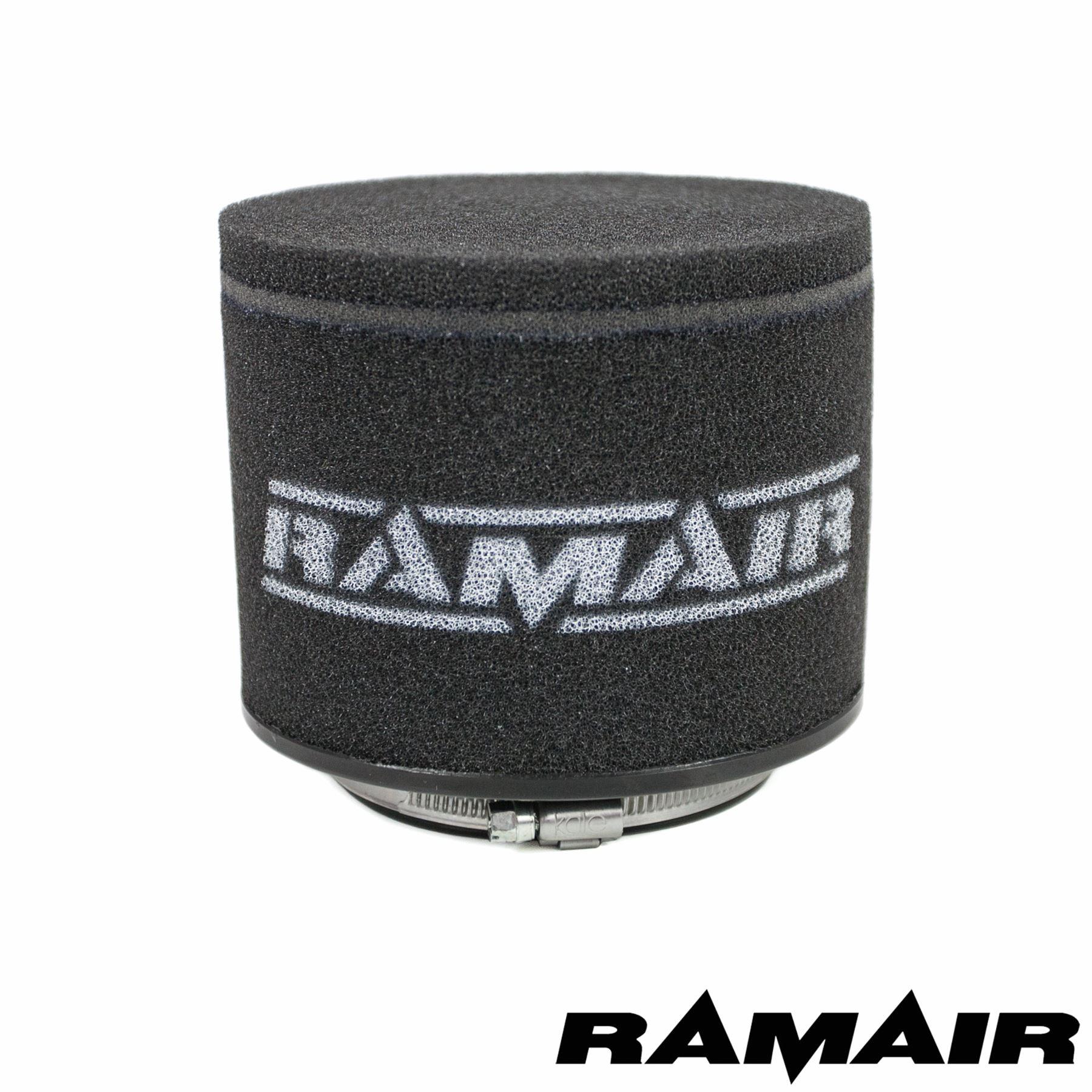 RAMAIR Lambretta Scooter Performance Race Twin Layer Foam Pod Air Filter 65mm