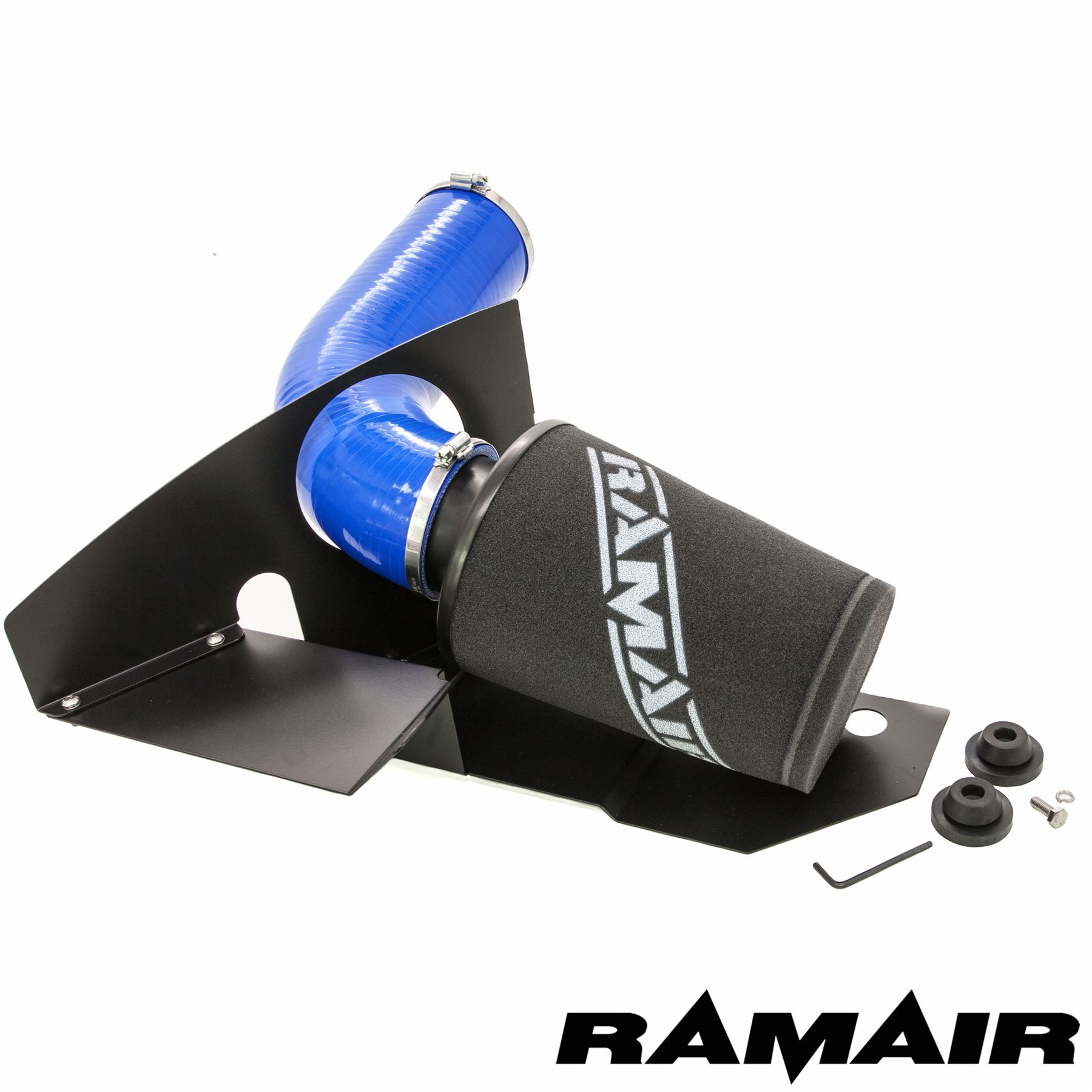 Details about Ramair Cone Air Filter Induction Intake Kit in Blue - 2 0 TSI  EA888 GTI MK6 FR