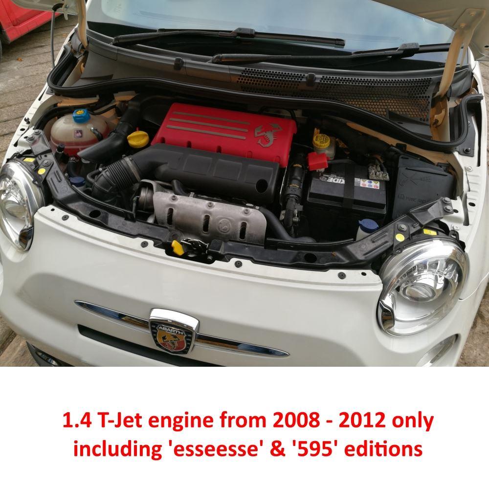 Ramair Air Filter Induction Intake Kit Abarth Fiat 500 1 4t