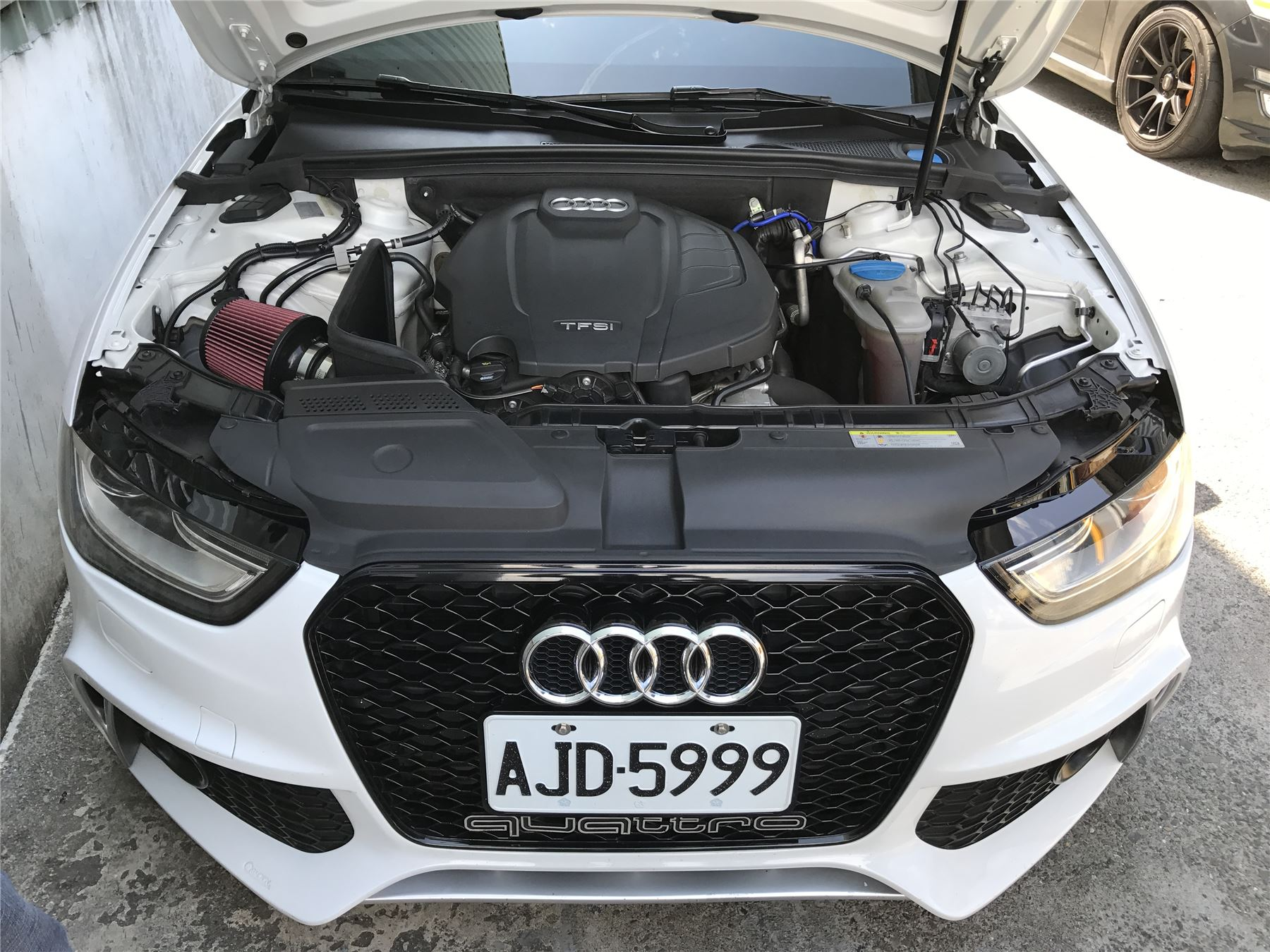 Air Filter Intake Induction Kit By Mst Performance A4 A5 B8 18 Tfsi