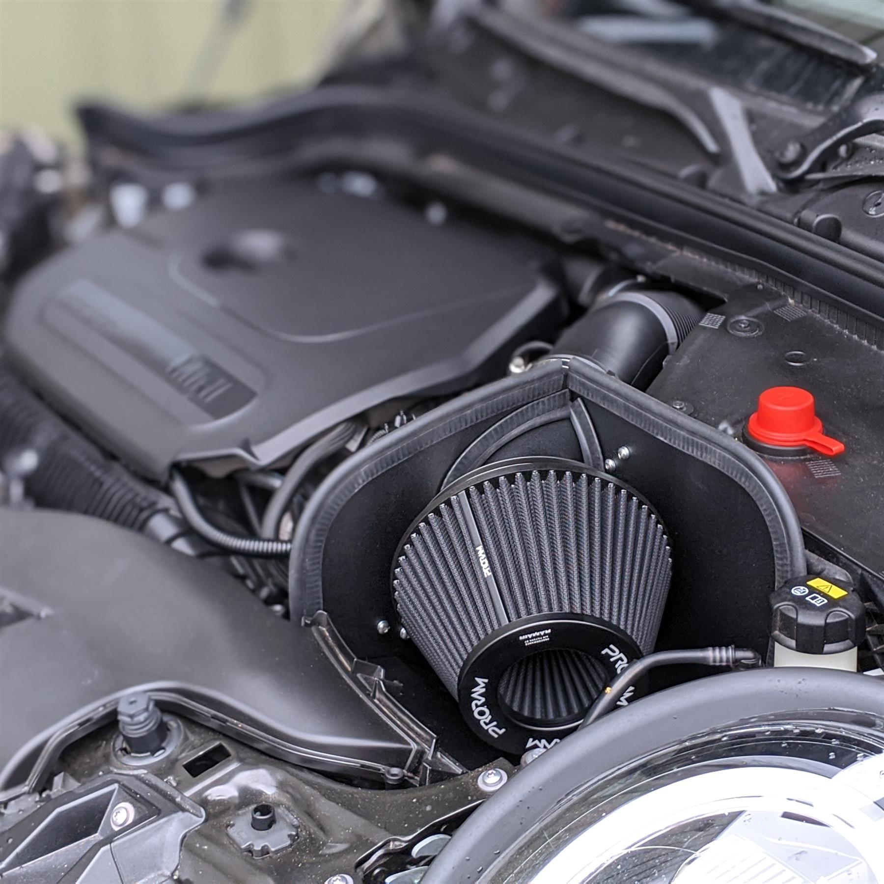 Filtro aria per moto Fydun set di filtri per induzione di aspirazione aria modificata da 35 mm Adatto per moto da 100-150 cc Blu