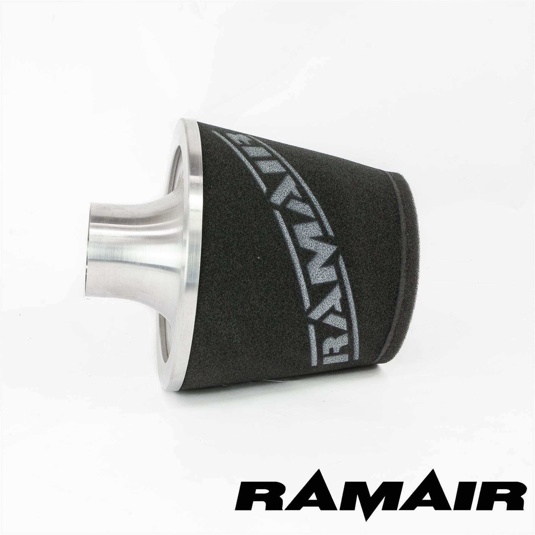 Nero Ramair Alluminio Induzione perormance FILTRO DELL/'ARIA UNIVERSALE 90Mm Collo Nuovo