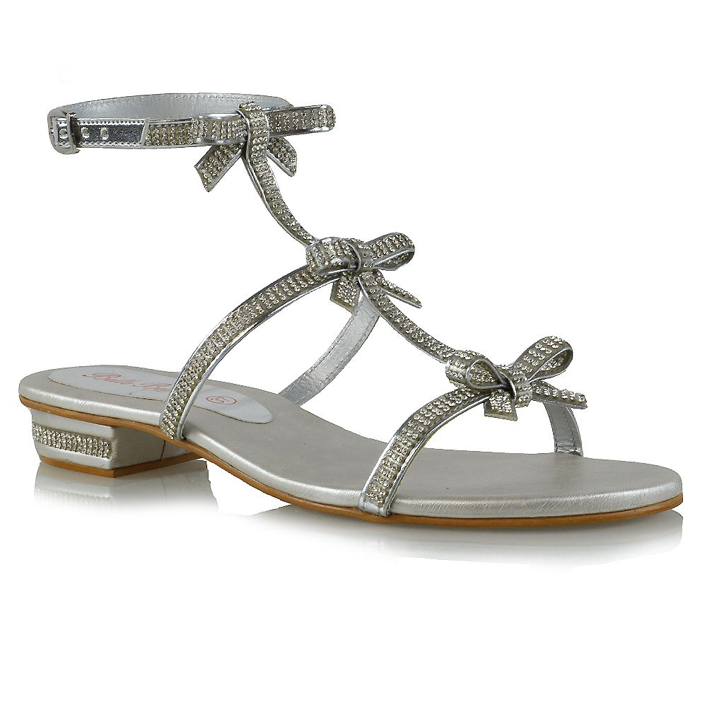 Womens Flat Strappy Shoes