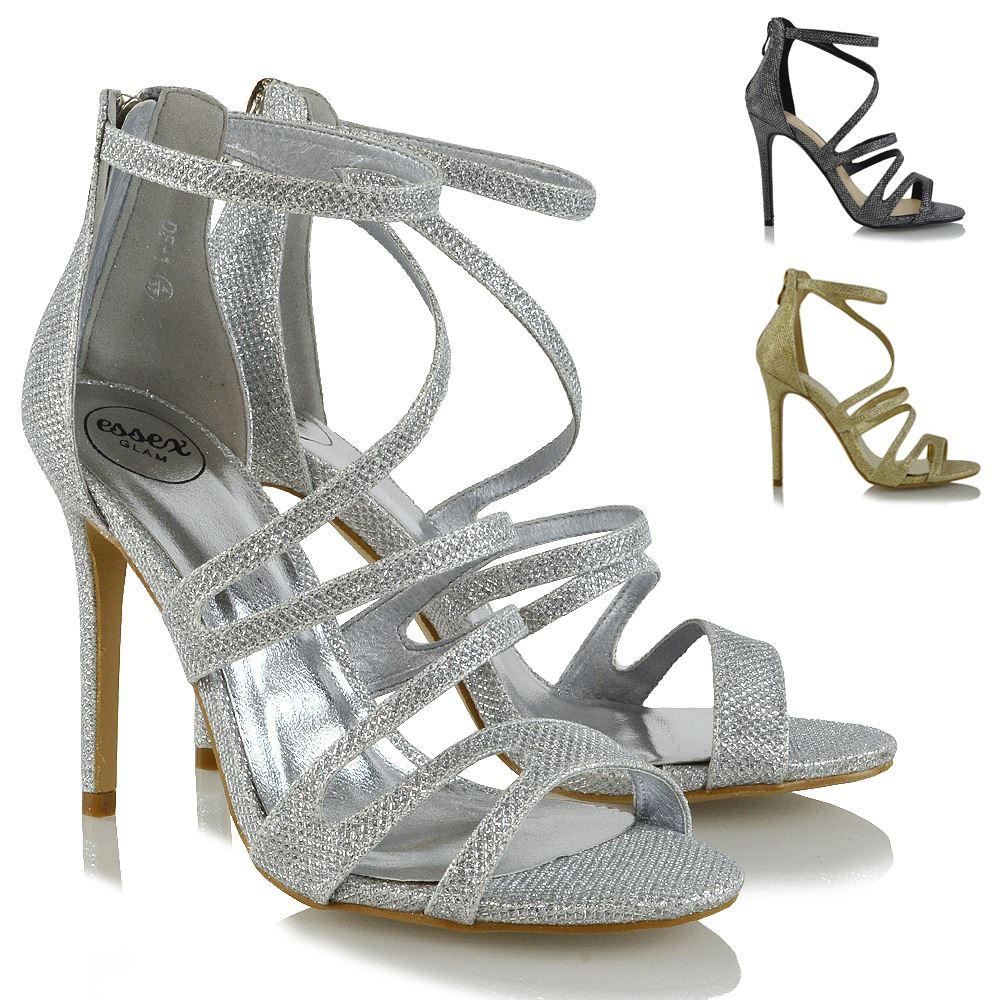 Sandales a plateforme talon escarpins femme chaussure noeud chic soirée L-518