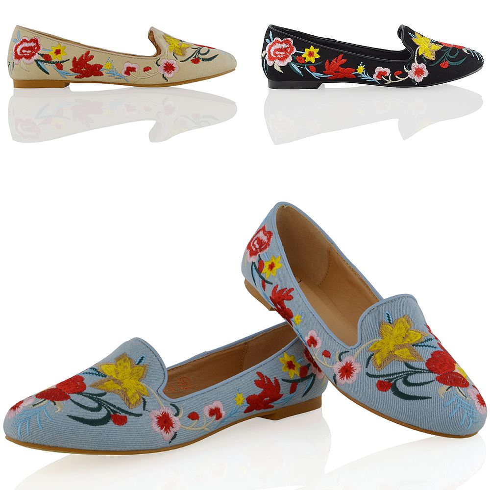 Womens Flowrs Shoes Uk
