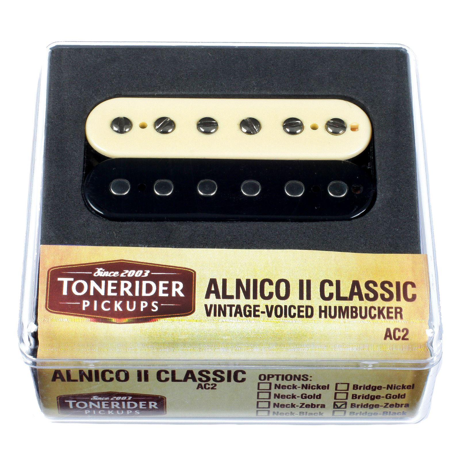 Tonerider Ac2 Alnico Ii Paf Humbucker Pickups Ebay Pickup Wiring Diagram
