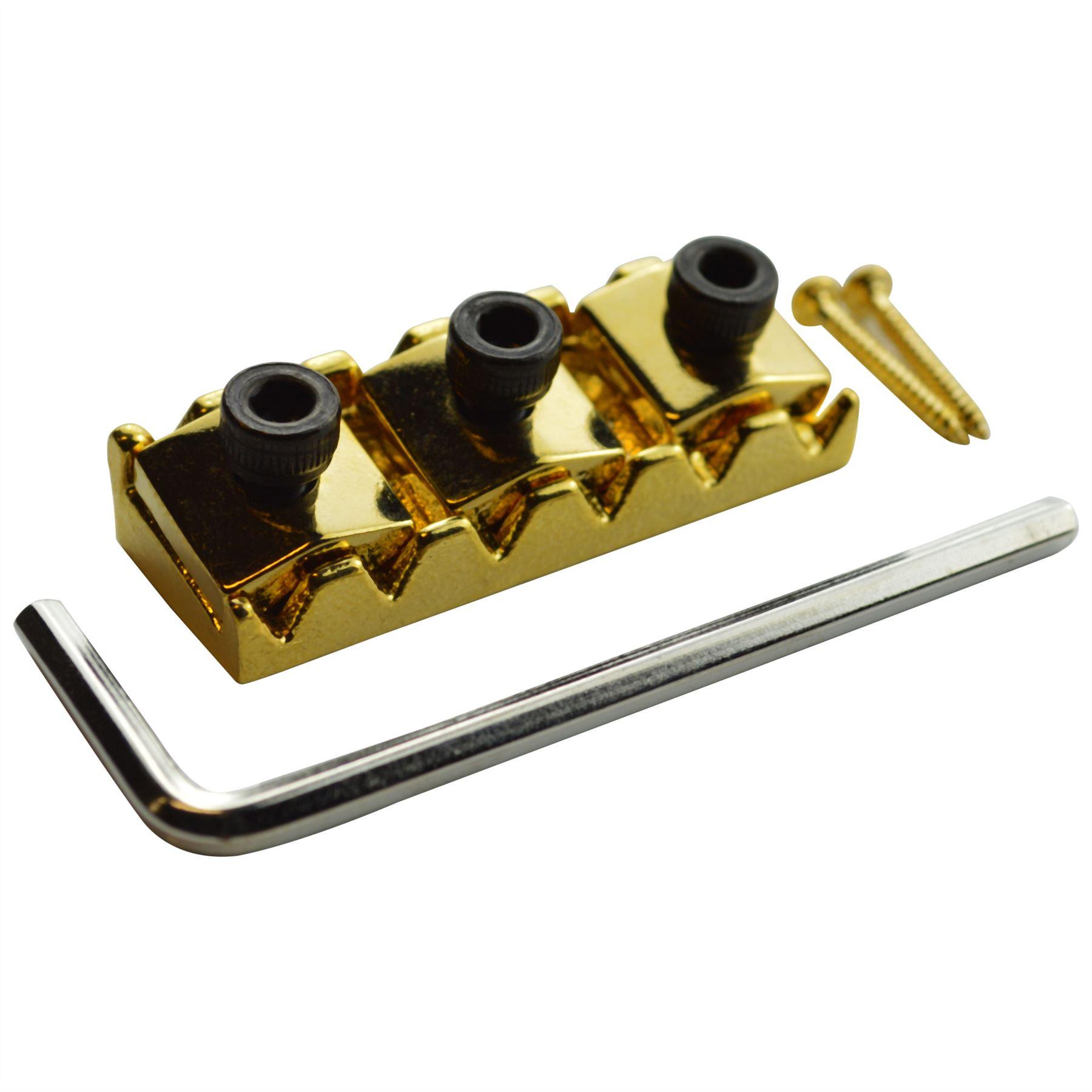 floyd rose locking nut 42mm for 6 string electric guitars ebay. Black Bedroom Furniture Sets. Home Design Ideas