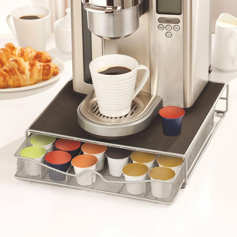 Coffee Machine Stand Amp Capsule Pod Holder Storage Drawer