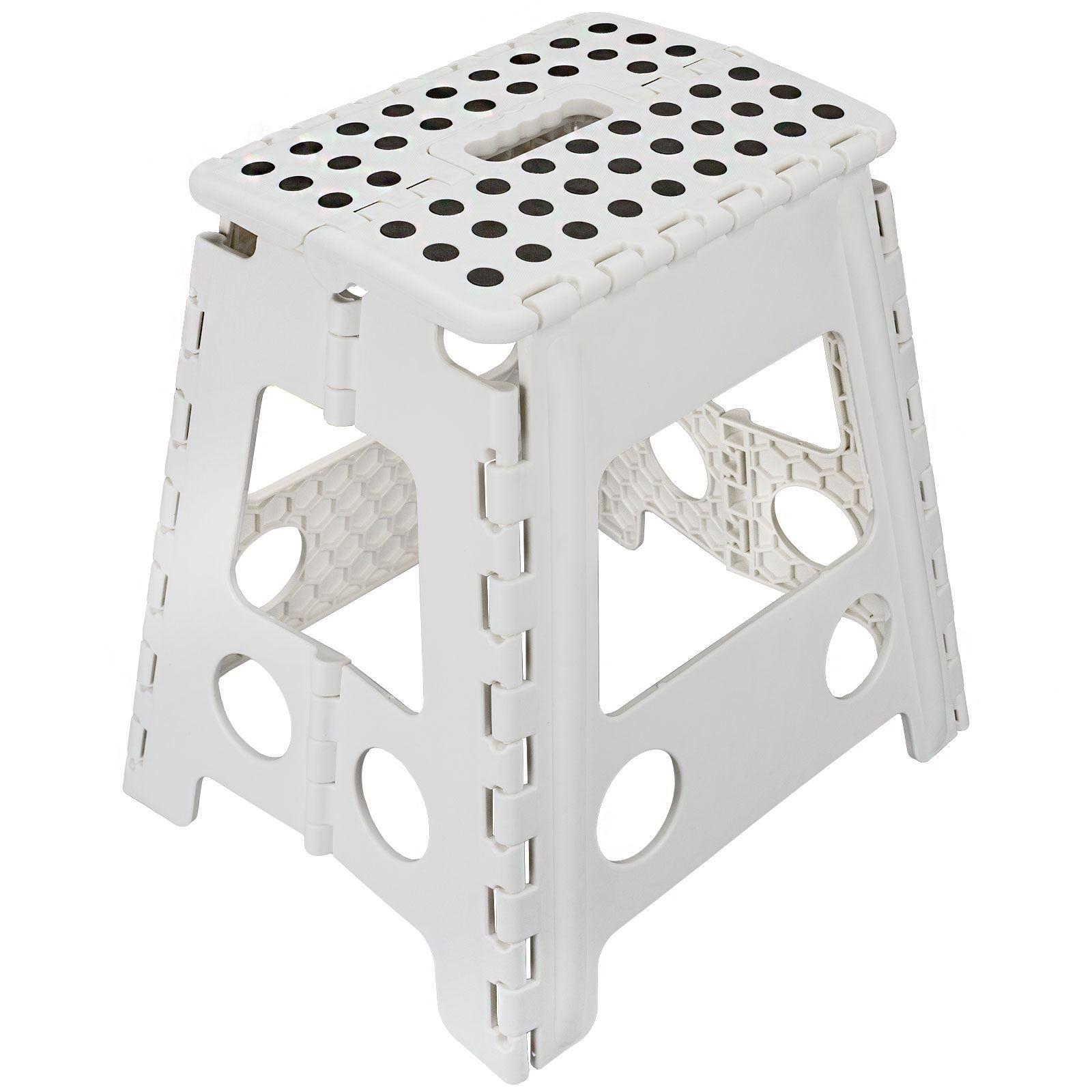 Large Folding Plastic Multi Purpose Stool Foot Step Ladder