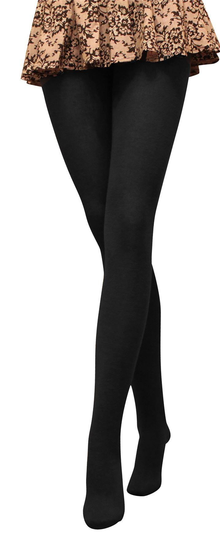 Warm-Winter-Tights-180-den-Acrylic-Size-2-5-New-Ladies-Women-Tights
