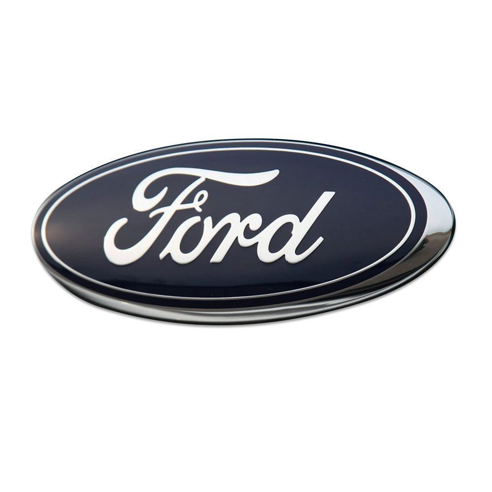 NEW Ford Fiesta 2008-2012 Front Oval Ford Bonnet Grille Badge
