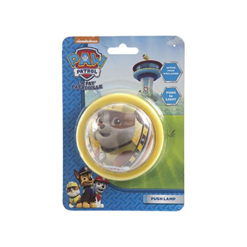 Paw Patrol Night Light Kids Bedroom Push Button Lamp Chase Rubble ...