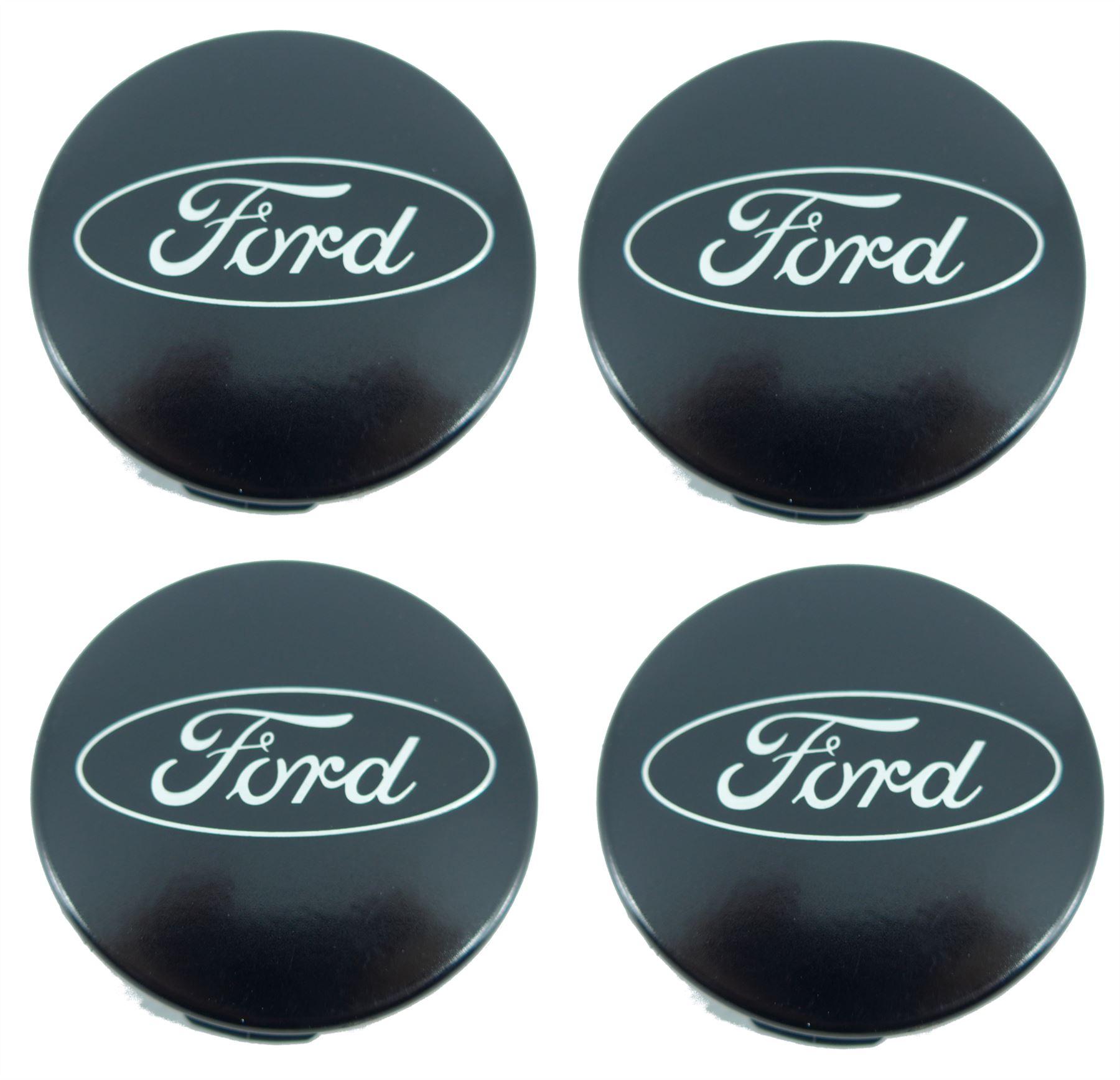 4 X Genuine Ford Transit Custom Alloy Wheel Center Caps