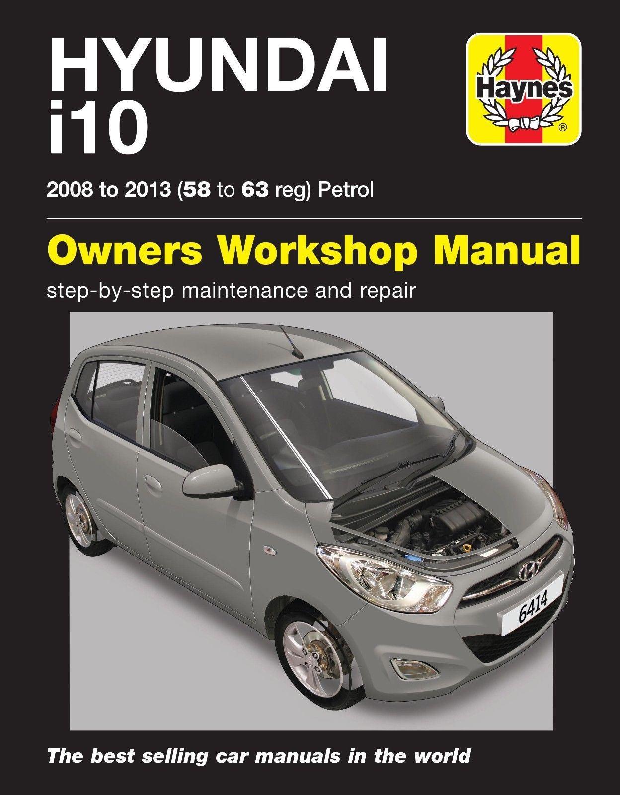 Bestseller  Hyundai I10 Service Manual