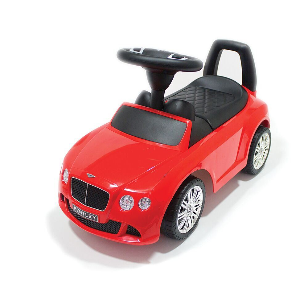 bentley continental speed gt childrens ride on push